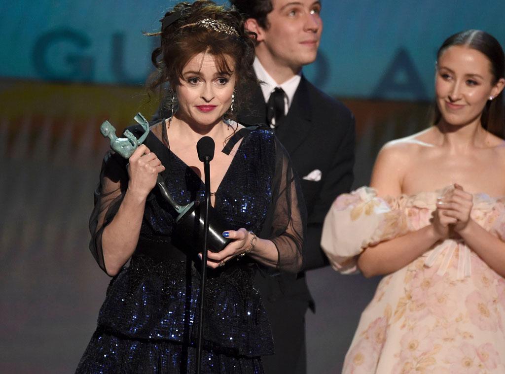 Helena Bonham Carter, 2020 Screen Actors Guild Awards, SAG Awards, Show