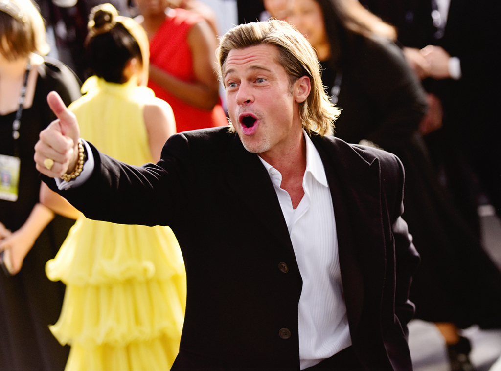 Brad Pitt, 2020 Screen Actors Guild Awards, SAG Awards, Candids
