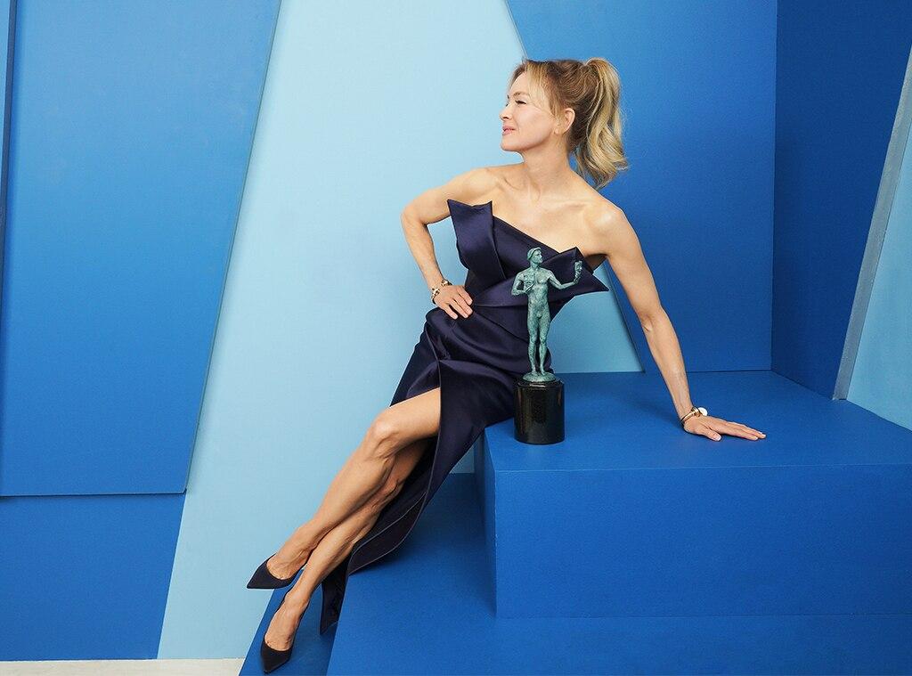 Renée Zellweger, 2020 Screen Actors Guild Awards, SAG Awards, Winners Gallery Portraits