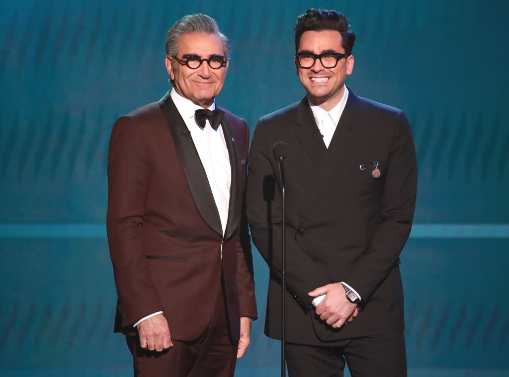 Eugene Levy, Dan Levy, 2020 Screen Actors Guild Awards, SAG Awards