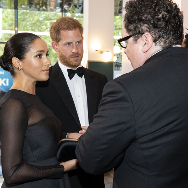 Prince Harry and Meghan Markle Pitch Jon Favreau Voiceover Work in Resurfaced Video