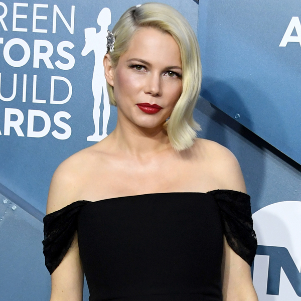 Michelle Williams Accepts SAG Award for Fosse/Verdon With Sweet Message for Daughter Matilda
