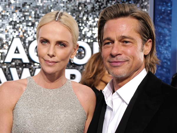Brad Pitt Is a Total Stud in a White (Unbuttoned!) Dress Shirt at the 2020 SAG Awards