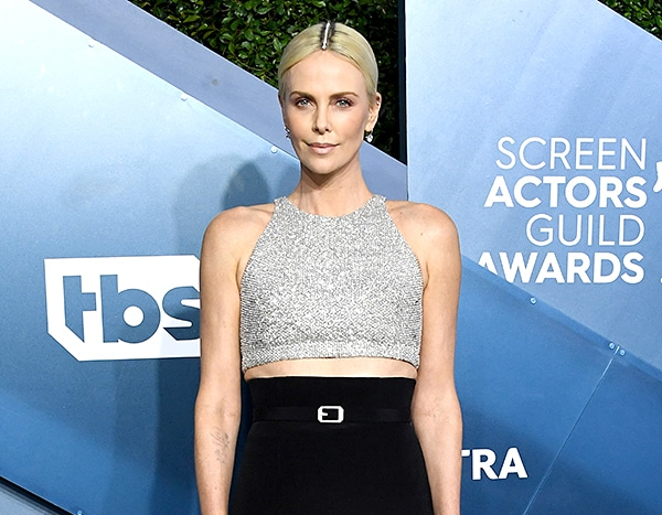 Charlize Theron May Have the Most Surprising SAG Awards Accessory of the Night