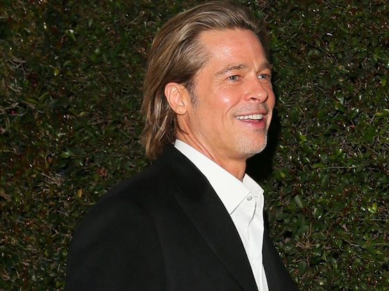 Swipe Right, Ladies! Brad Pitt Is Putting His SAG Award In His Tinder Profile