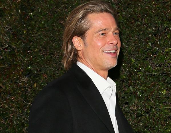 Swipe Right, Ladies! Brad Pitt Is Putting His SAG Award In His Tinder Profile