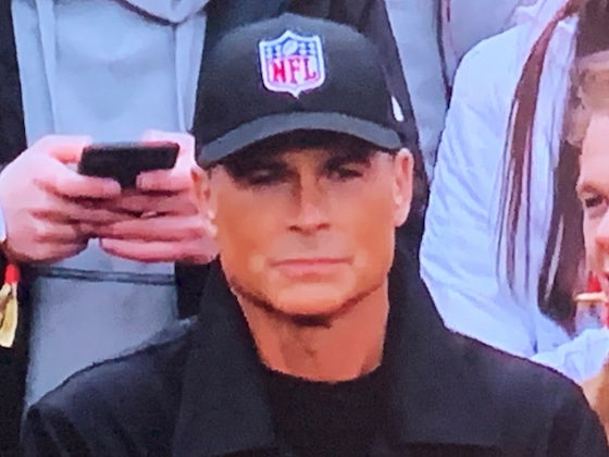 Rob Lowe Reacts to His Viral NFL Moment