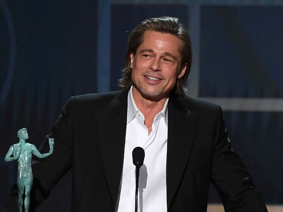 Brad Pitt Made A Bit of Fun Of Himself and His Romantic History During His 2020 SAG Awards Speech
