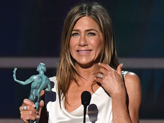 Every Time Jennifer Aniston Was the Queen of the 2020 SAG Awards
