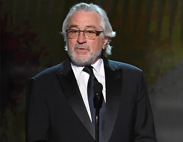 Robert De Niro Proves Why He's Such a Legend While Accepting Lifetime Achievement Award at SAG Awards