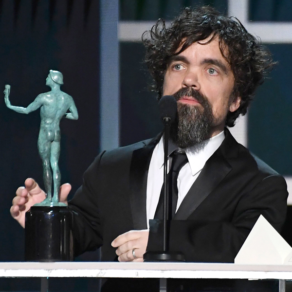 Peter Dinklage Pays Tribute to His Game of Thrones Cast at the 2020 SAG Awards