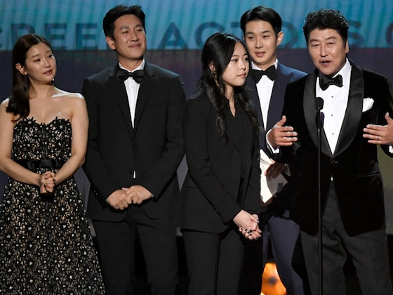 <i>Parasite</i> Makes SAG Awards History With Outstanding Cast in a Motion Picture Win