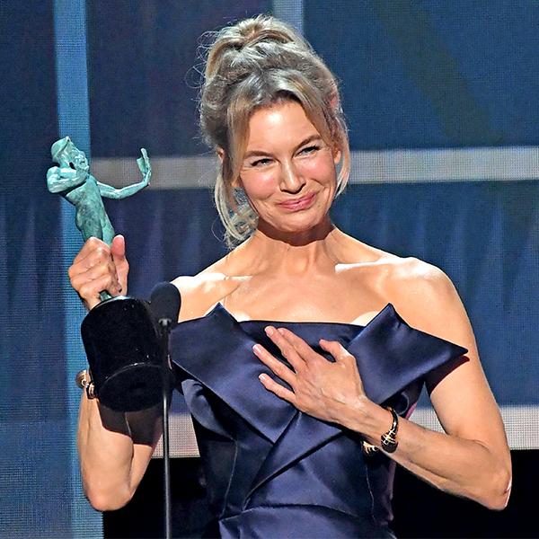 Renée Zellweger Gives Tom Cruise a Sweet Shout-Out After Winning 2020 SAG Award