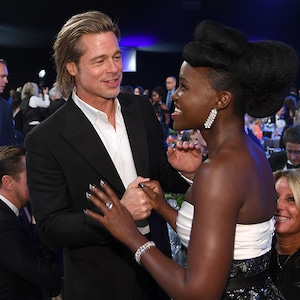 Brad Pitt, Lupita Nyong'o, 2020 Screen Actors Guild Awards, SAG Awards, Reunions