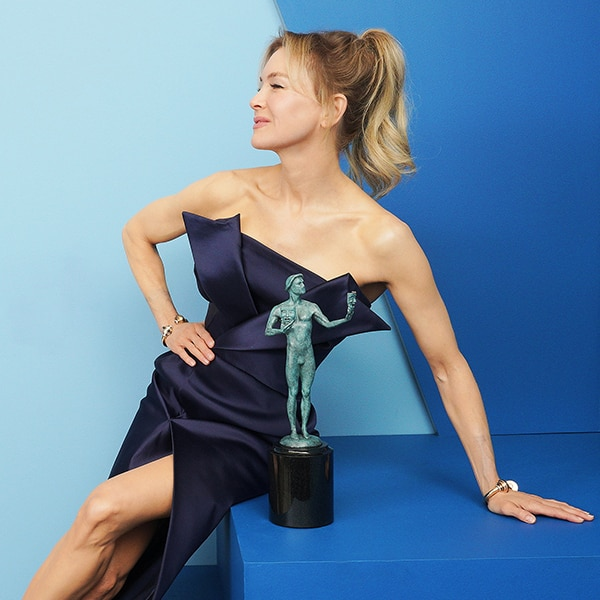 Renée Zellweger, 2020 Screen Actors Guild Awards, SAG Awards, Winners Gallery Portraits