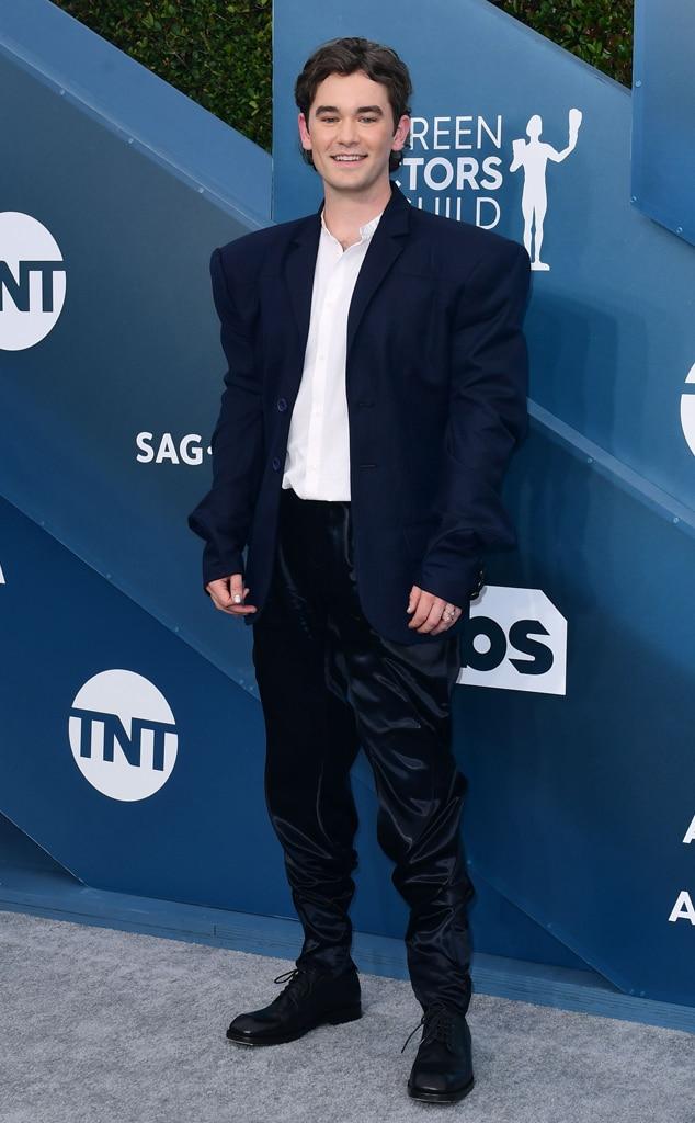 Casey Thomas Brown, 2020 Screen Actors Guild Awards, SAG Awards, Red Carpet Fashions