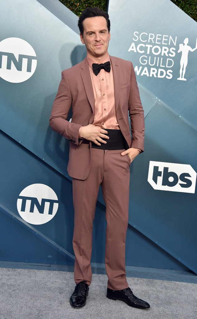Andrew Scott, 2020 Screen Actors Guild Awards, SAG Awards, Red Carpet Fashions