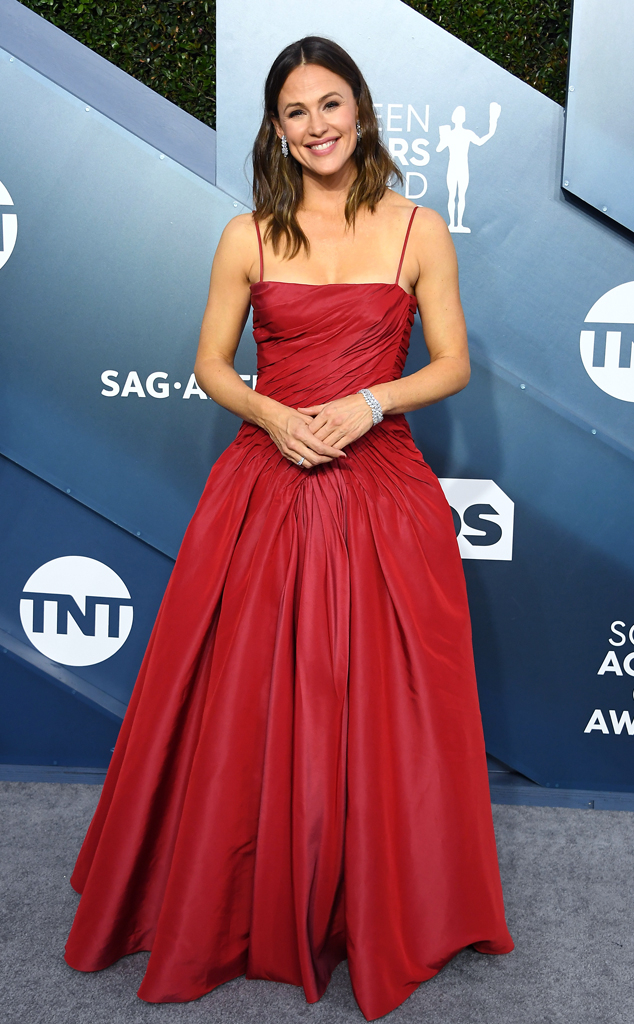 Jennifer Garner, 2020 Screen Actors Guild Awards, SAG Awards, Red Carpet Fashions