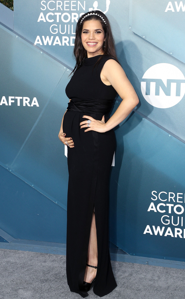 America Ferrera, 2020 Screen Actors Guild Awards, SAG Awards, Red Carpet Fashions