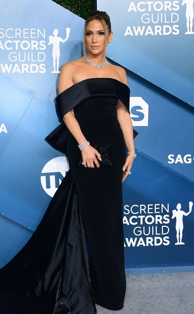 Jennifer Lopez, 2020 Screen Actors Guild Awards, SAG Awards, Red Carpet Fashions