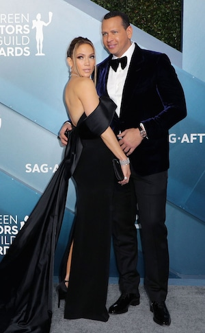 Jennifer Lopez, Alex Rodriguez, 2020 Screen Actors Guild Awards, SAG Awards, Couples