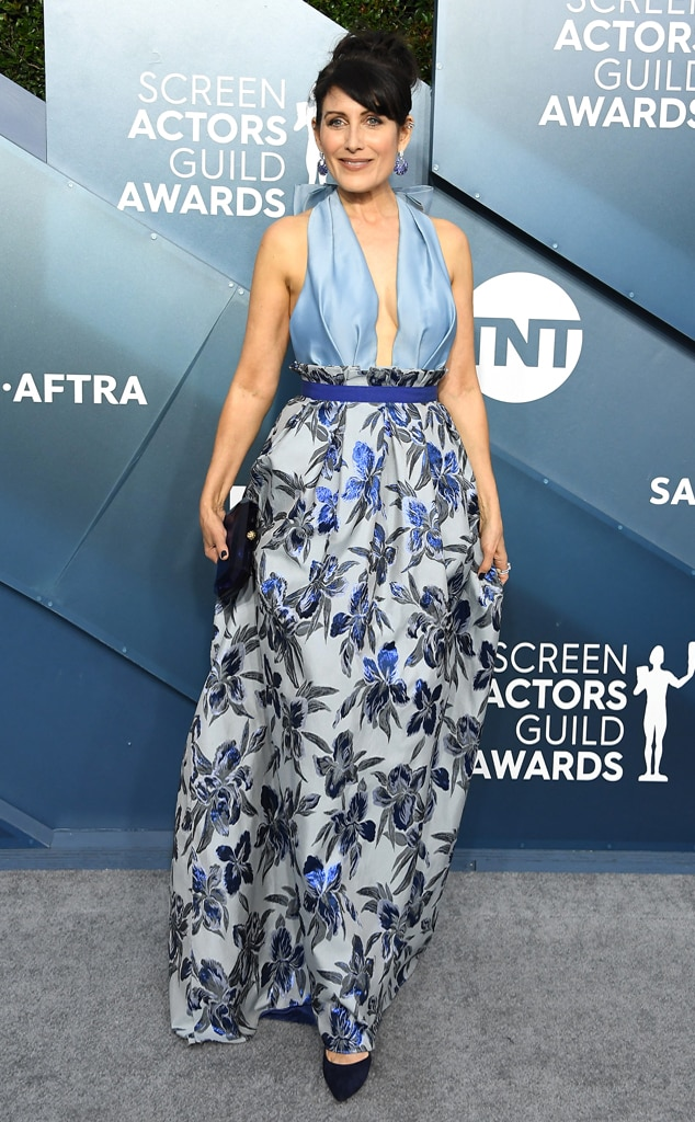 Lisa Edelstein, 2020 Screen Actors Guild Awards, SAG Awards, Red Carpet Fashions