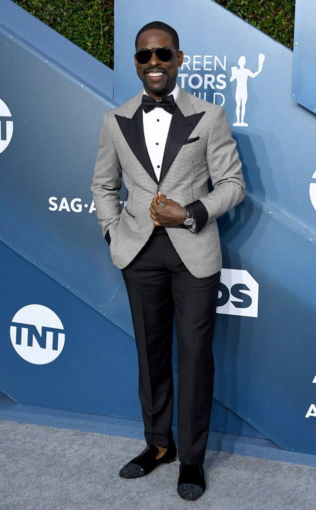 Sterling K. Brown, 2020 Screen Actors Guild Awards, SAG Awards, Red Carpet Fashions