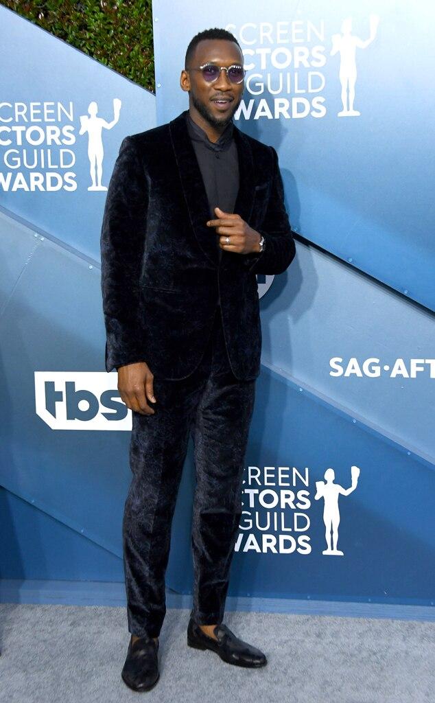 Mahershala Ali, 2020 Screen Actors Guild Awards, SAG Awards, Red Carpet Fashions