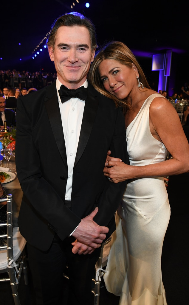 Billy Crudup, Jennifer Aniston, 2020 Screen Actors Guild Awards, SAG Awards, Candids