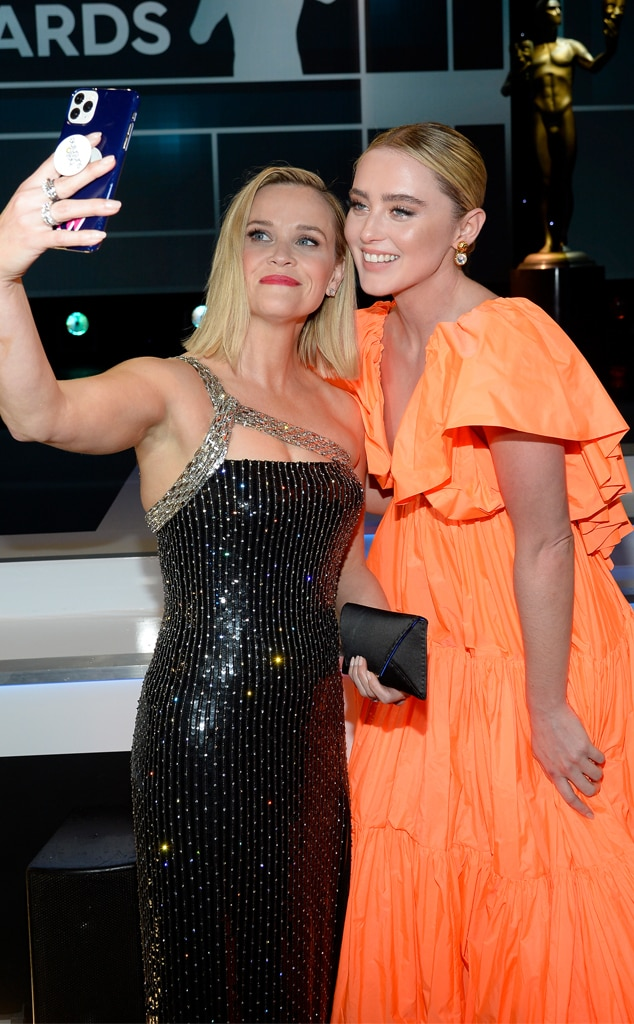 Reese Witherspoon, Kathryn Newton, 2020 Screen Actors Guild Awards, SAG Awards, Candids