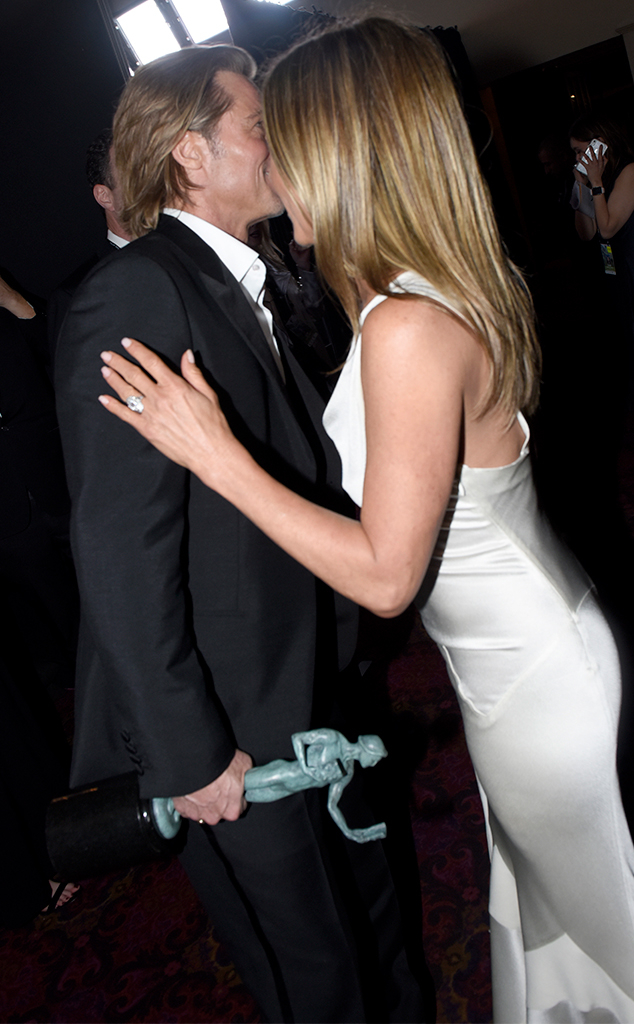 Jennifer Aniston, Brad Pitt, 2020 Screen Actors Guild Awards, SAG Awards