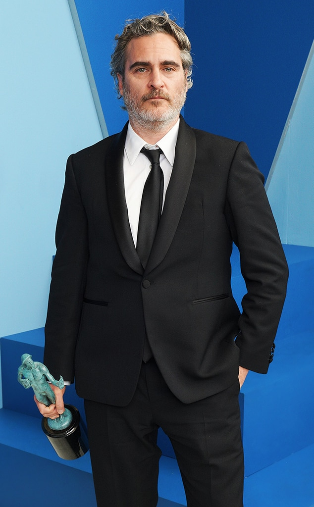 Joaquin Phoenix, 2020 Screen Actors Guild Awards, SAG Awards, Winners Gallery Portraits