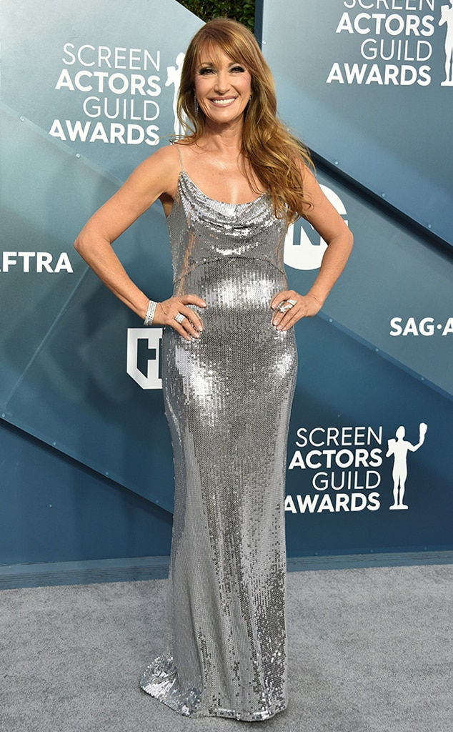 Jane Seymour, 2020 Screen Actors Guild Awards, SAG Awards, Red Carpet Fashions