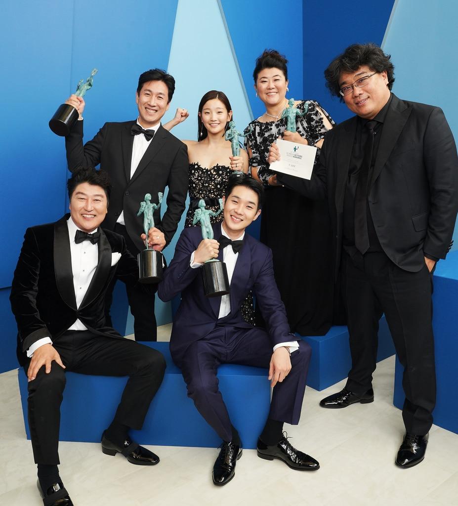 Parasite Cast, 2020 Screen Actors Guild Awards, SAG Awards, Winners Gallery Portraits