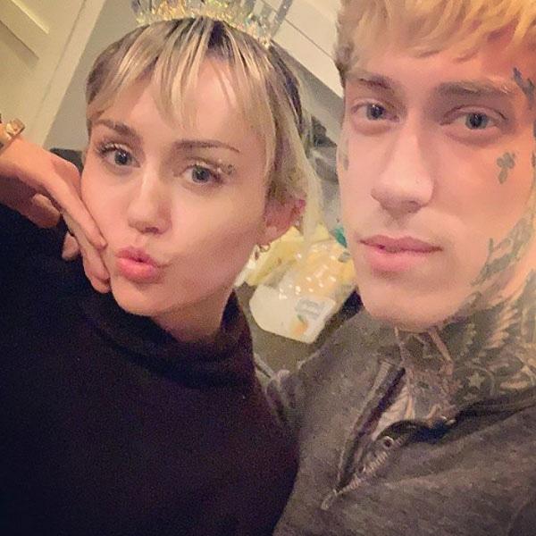 Miley Cyrus, Trace Cyrus