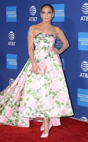 Jennifer Lopez, 2020 Palm Springs Film Festival Awards