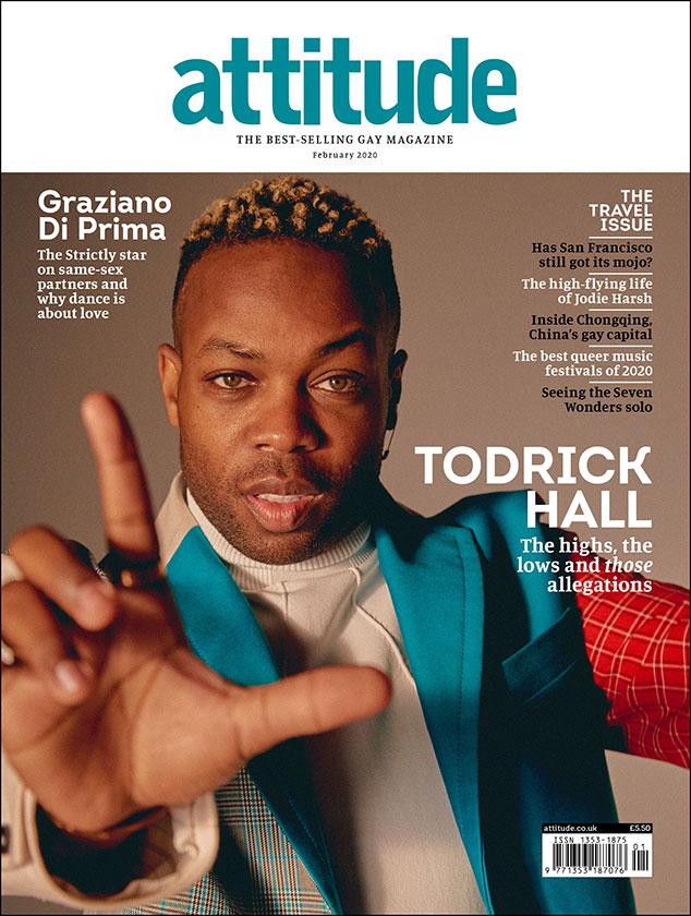 Todrick Hall, Attitude Magazine