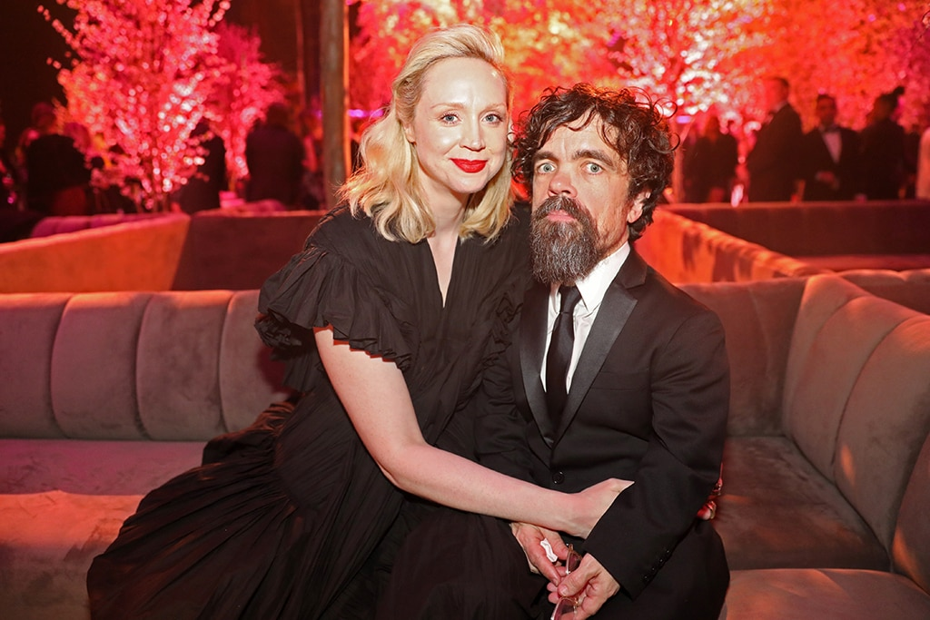 Gwendoline Christie, Peter Dinklage, 2020 SAG After Party