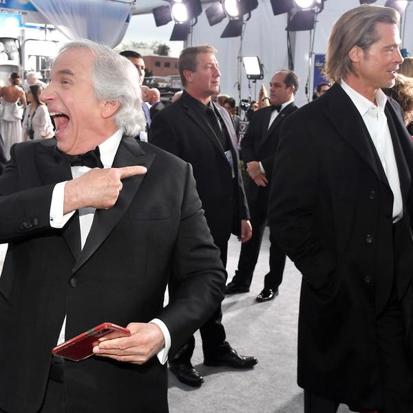 Henry Winkler, Brad Pitt