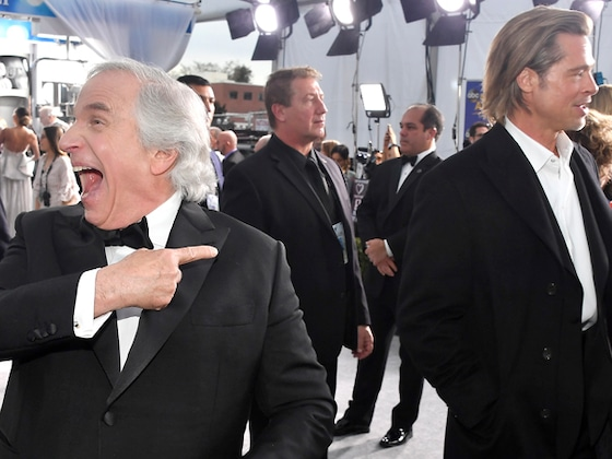 Proof No One Had a Better Time At the 2020 SAG Awards Than Henry Winkler