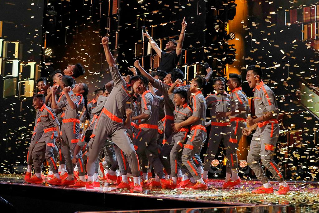 See V Unbeatable S Dreams Came True On Agt The Champions E News