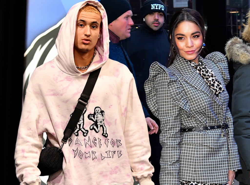 Vanessa Hudgens Hits Up Lakers Game To Watch Kyle Kuzma Play