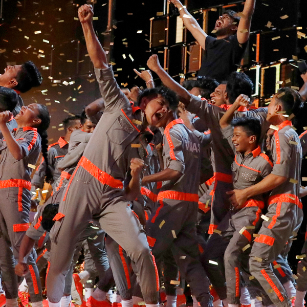 See V.Unbeatable Get the America's Got Talent: The Champions Golden Buzzer
