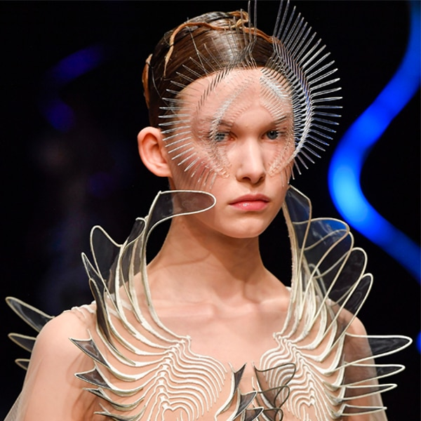 Best Beauty Looks, 2020 Paris Fashion Week, Iris Van Herpen