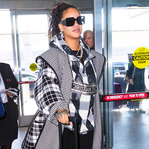 Rihanna Takes Airport Style to New Heights With Must-See Luggage
