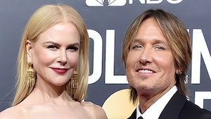 Nicole Kidman, Keith Urban, 2020 Golden Globe Awards