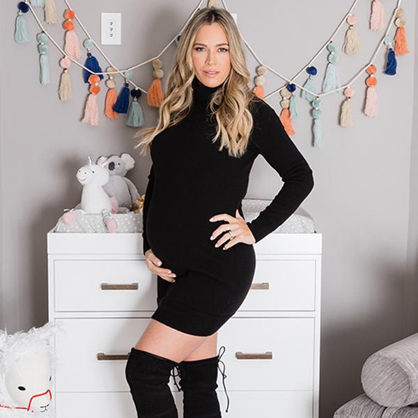 Yes, Teddi Mellencamp's Baby Nursery Includes a Bunny From Lisa Rinna