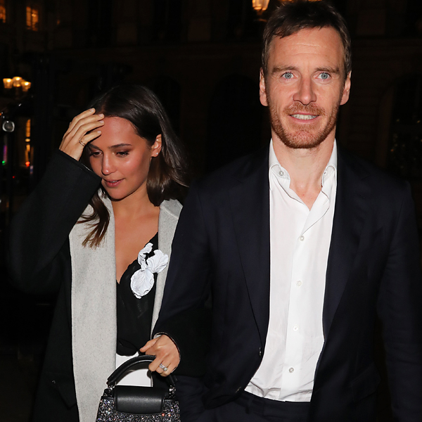 Alicia Vikander and Michael Fassbender Light Up Fashion Week With Rare Outing