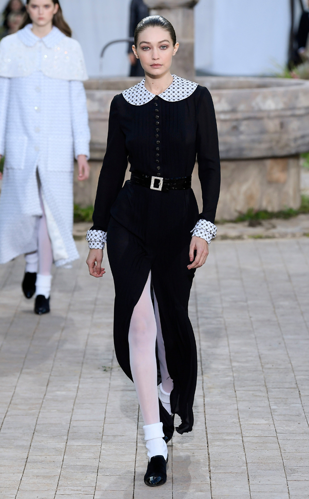 Gigi Hadid, Chanel SS2020 Show, Paris Fashion Week