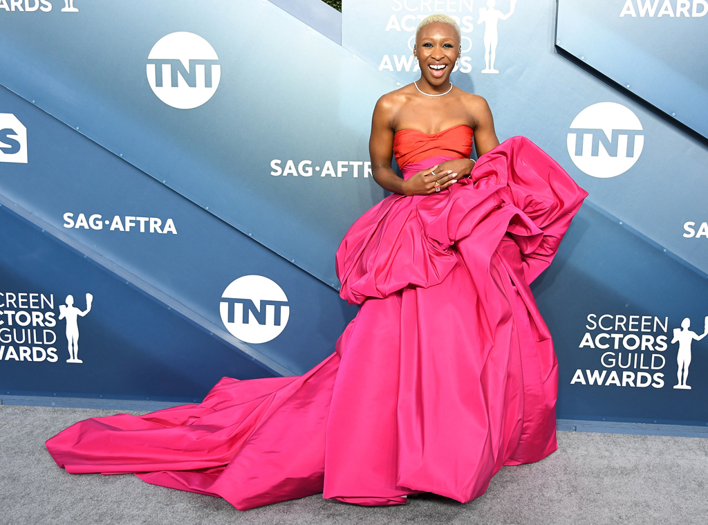 Cynthia Erivo, 2020 Screen Actors Guild Awards, SAG Awards